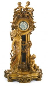 Luxury clock engraving