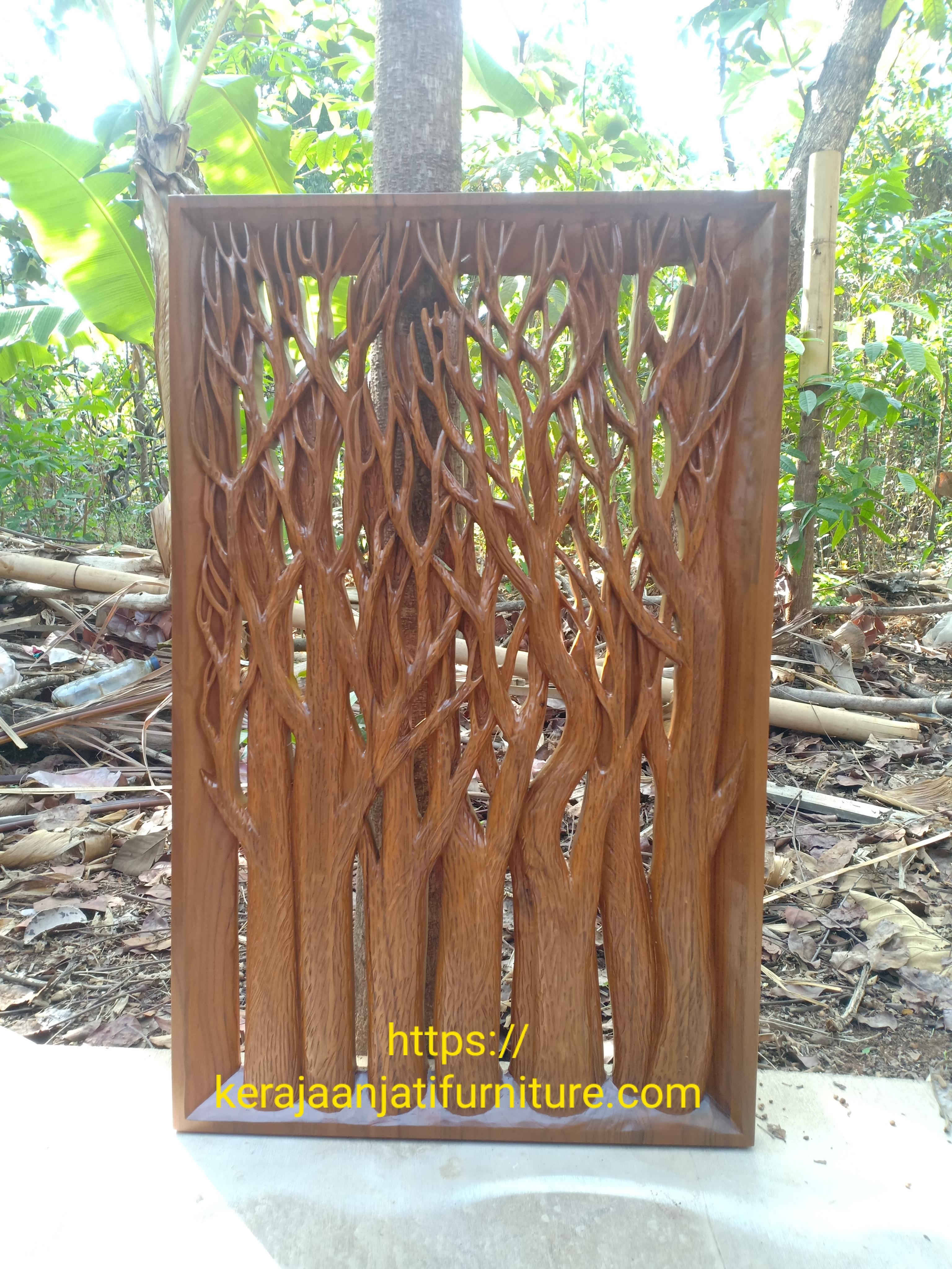 Hiasan dinding ranting pohon